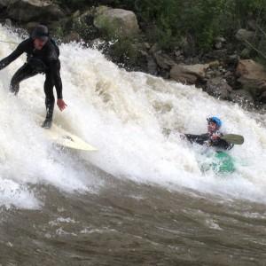 Ben Cross & Jesse Dimarco at Ponderosa Wave