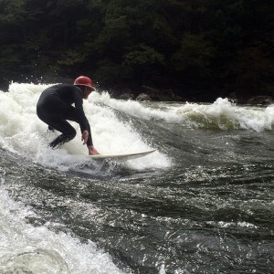 Surfing at Diagonal Ledges (WV)