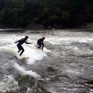 West Virginia River Surfing
