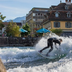 Chris Collard in Thun (CH)