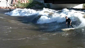 Colorado River Surfer @ youtube