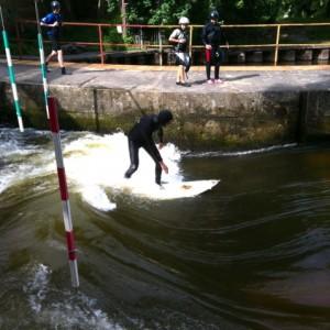 Czech River Wave