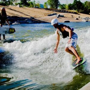 Ben Nielsen Surfing Denver Wave