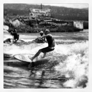 Surfing Kellys Whitewaterpark
