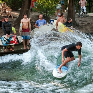 River Surfing Munich