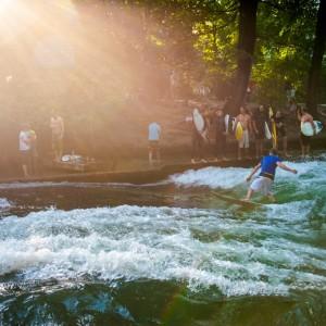 River Surfing Munich
