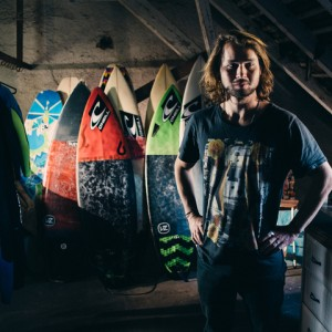 Simon Strangfeld and his Boards