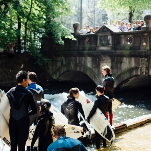 Queueing at the Eisbach