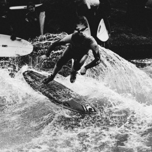 Air Time at the Eisbach