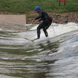 Eric Thomas Surfing in Denver