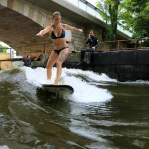 Bikini River Surfing