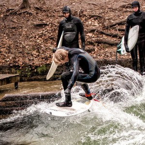 Surfing in Fall / Winter