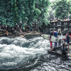 Eisbach Locals Line Up