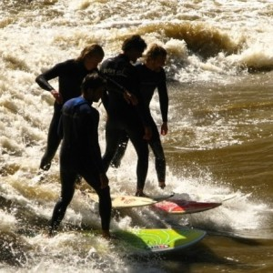 River Surfing Photo
