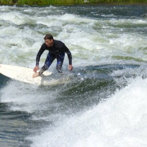 River Surfing Idaho