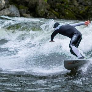 River Surfing Idaho/Montana