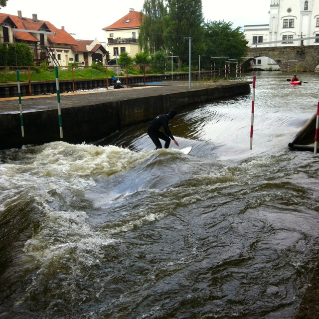 The Story Of The First River Wave In Czech Republic Riverbreak - Czech river