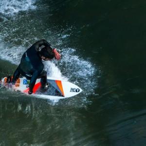 Alex Neumann Ripping Cunovo Wave