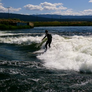 Idaho River Surfing