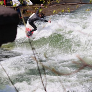 River Surfing 180