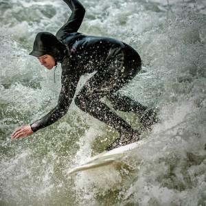 Surfing Eisbach
