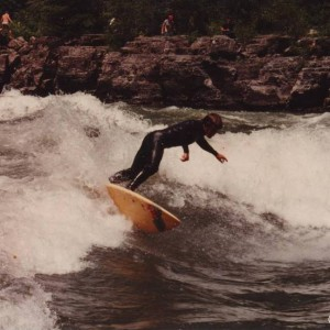 Cutback on Snake River, 1992