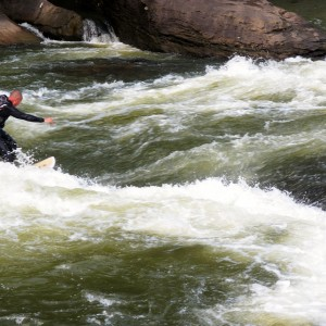 Lower Gauley River Wave
