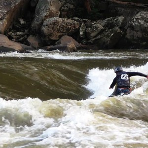 Canyon Doors River Surfing