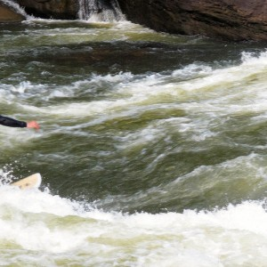 Surfing at the Lower Gauley River