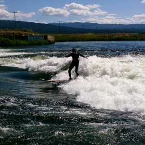 River Surfing in Cascade