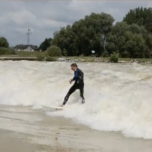 Isarwelle / Isar Wave, Plattling