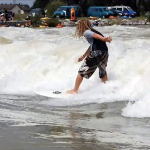 Surfing Isar Wave Plattling