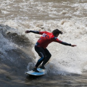 Murbreak Riversurf Contest 2012, Tom Staud